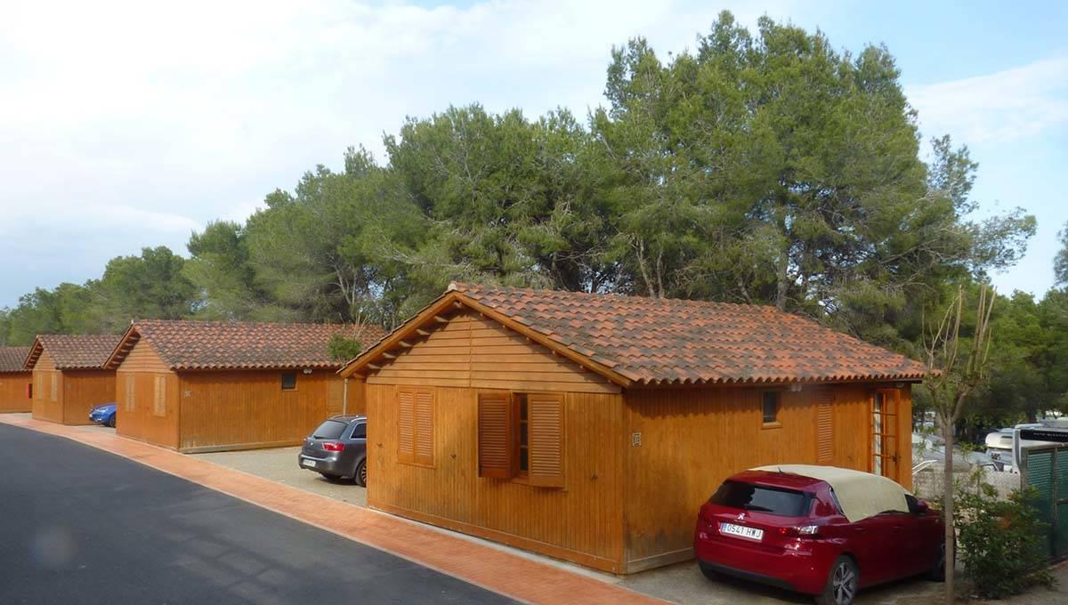 camping Barcelone: Vilanova park bungalows