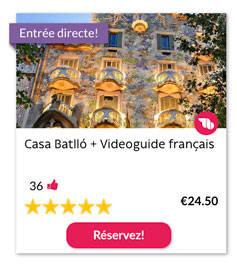 Casa Batlló + Videoguide français