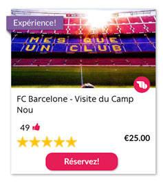 FC Barcelone - Visite du Camp Nou