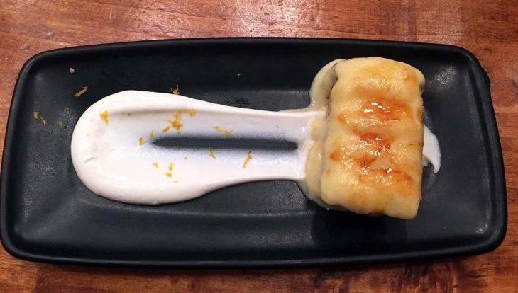 torrija desser bodega la Puntual