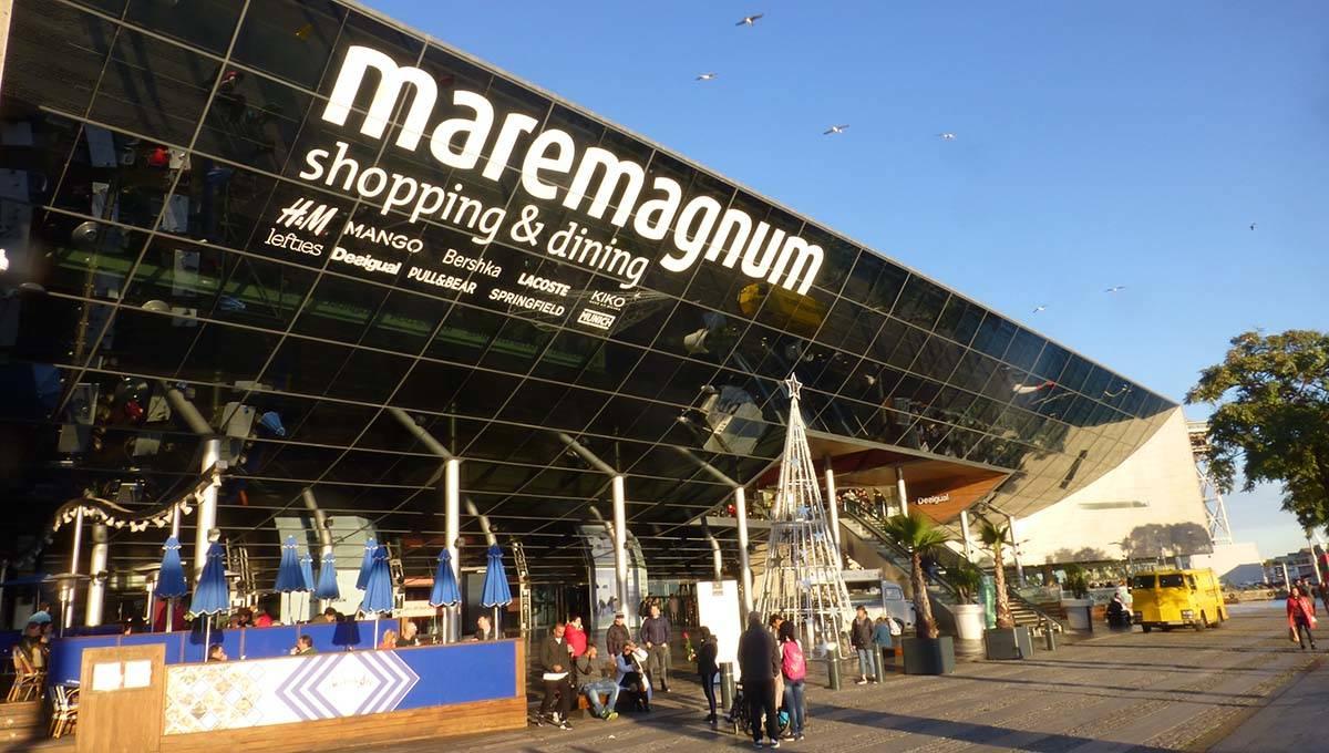 maremagnum vu de l'extérieur