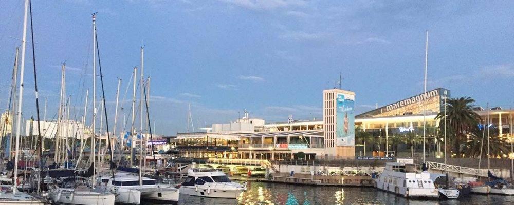 Maremagnum: un centre commercial avec vue sur la mer et le port de Barcelone