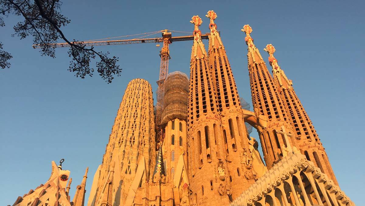 Sagrada Familia à 5 mn de l'hôtel Ibis