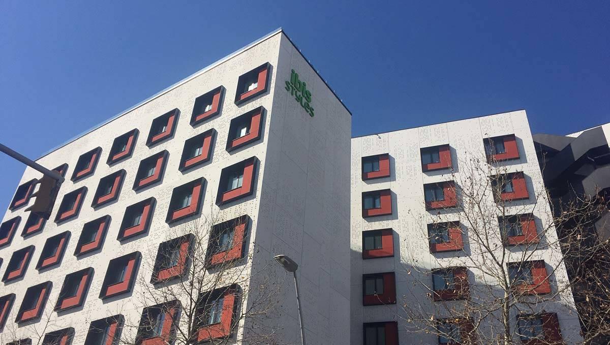 hôtel Ibis style Bogatell bâtiment vu de l'extérieur
