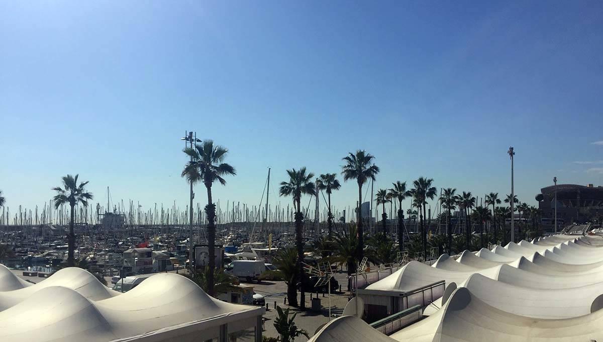 port olympiques bateaux et restaurants