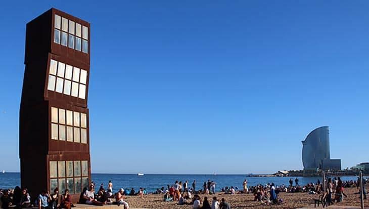 Barceloneta côté mer