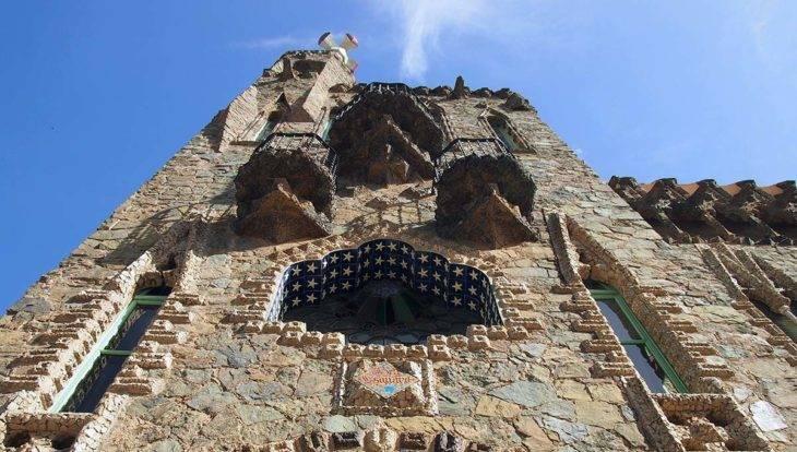 torre bellesguard façade