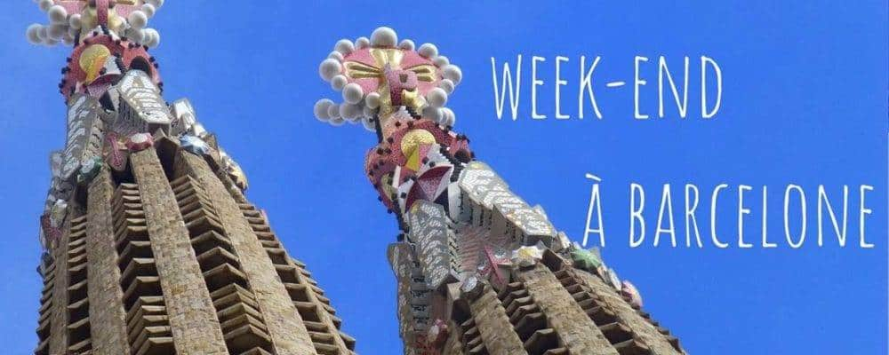 Week-end à Barcelone: demandez le programme