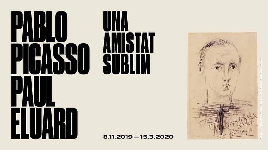 affiche expo : Picasso Eluard une amitié subline
