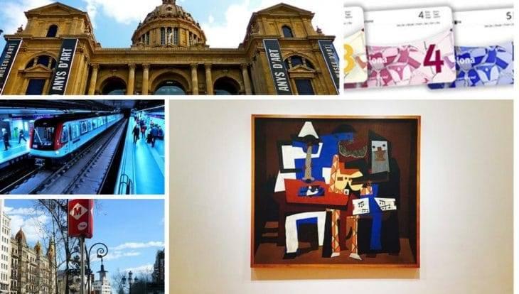 barcelona card un pass métro et musées
