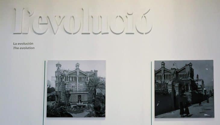 histoire et évolution de la Casa Vicens
