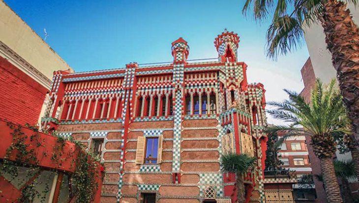 jardin de la casa Vicens