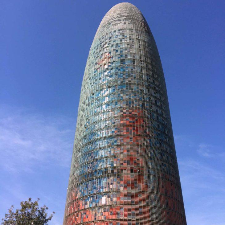 Tour Agbar vue de près