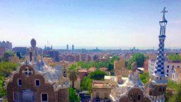 Park Güell vue panoramique